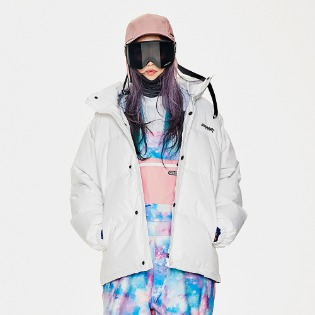 1920 비에스래빗 BSR DUCK DOWN PARKA WHITE