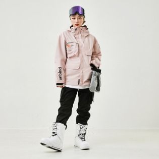 1920 언바인드 보드복 TRIBE JACKET / INDY PINK