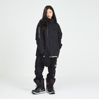 DIMITO 1819 FIELD JACKET BLACK 디미토 필드 자켓