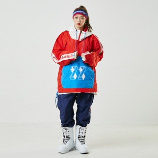 19/20 88 BOXER2 JACKET RED 남자여성공용 스노우보드복 자켓