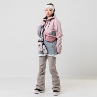19/20 INSTAY HOLD ANORAK JACKET PINK 여성용 스노우보드복 아노락자켓
