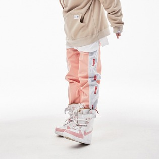 1819 BSRABBIT BSR WATERPROOF JOGGER PANTS PINK