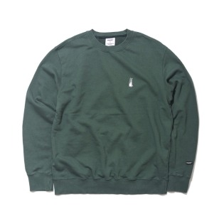 2021 비에스래빗 GR WELCOME DRY SWEAT SHIRT GREEN