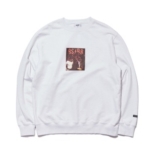 2021 비에스래빗 BSRB WELCOME DRY SWEAT SHIRT WHITE
