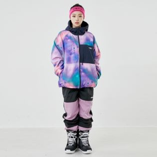 2021 BSRABBIT ROYAL FLEECE JACKET AURORA