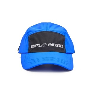 2021 비에스래빗 WEWE 5PANEL CAMP CAP BLUE