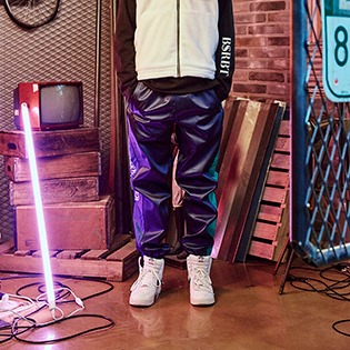 2021 BSRABBIT WW SHINE JOGGER PANTS NAVY
