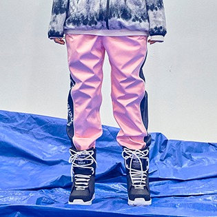 2021  BSRABBIT WW SHINE JOGGER PANTS PINK