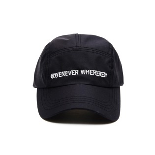 2021 비에스래빗 WEWE 5PANEL CAMP CAP BLACK