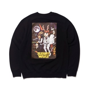 2021 비에스래빗 RABBIT WARS WELCOME DRY SWEAT SHIRT BLACK
