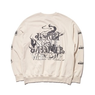 2021 비에스래빗 SEOUL WELCOME DRY SWEAT SHIRT CREAM