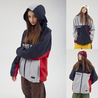 TRACK HOODED JACKET  큐마일 트랙 후디 자켓