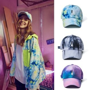 2021 BSRABBIT GR TIE DYE FLEECE CAP 비에스래빗 모자