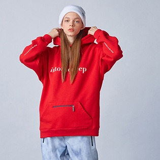 2021 HOLIDAY  ESSENTIAL hoodie - red