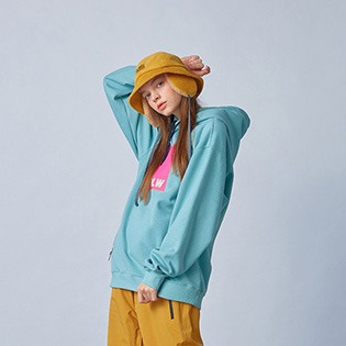2021  HOLIDAY LIGHT inner hoodie - greymint