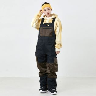 2021 BSR SHINE BIB PANTS BLACK