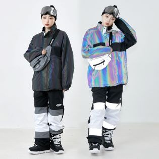 2021 비에스래빗 BSRABBIT COMPETITIVE JACKET RAINBOW REFLECTIVE SCOTCH