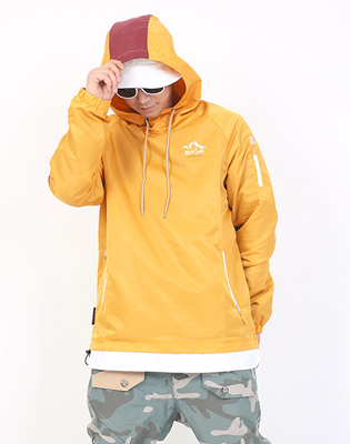 16/17 BUNCH HOOD JACKET * MUSTARD