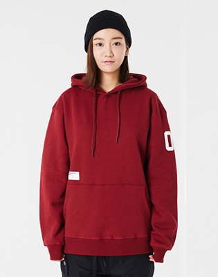 2016 DIMITO SEVEN HOODIE D.RED 이월 스노우보드복 후드