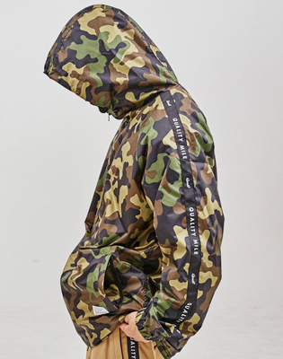QULAITY MILE TRAINING JACKET_CAMO