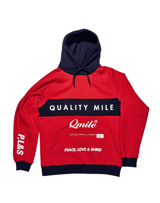 MOTTO HOODIE _ RED