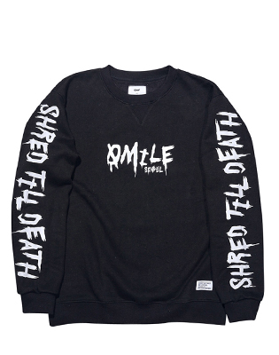 STD CREWNECK _ BLACK