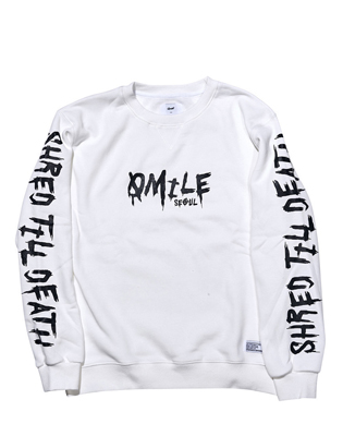 STD CREWNECK _ WHITE