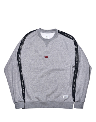 QUALITY MILE CREWNECK _ GREY