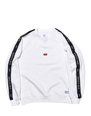 QUALITY MILE CREWNECK _ WHITE