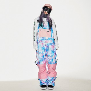 1920 비에스래빗 BSR INCREDIBLE TRANSFORM BIB PANTS FANTASY PINK