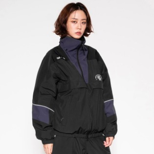 1920 DIMITO DM TRACK JACKET BLACK 디미토X밀레
