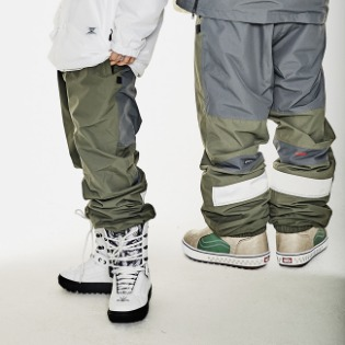 1920 비에스래빗 BSR ACTIVE JOGGER PANTS DARK KHAKI