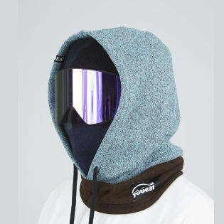 1920 요비트 MIX HOOD WARMER MINT BROWN 후드워머