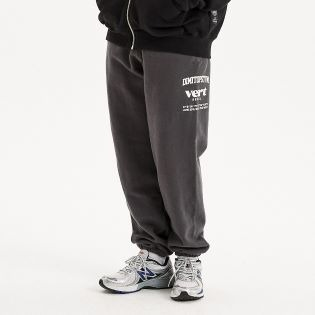 2021 DIMITO SE SWEAT PANTS CHARCOAL 디미토 SE 스웻 팬츠 챠콜