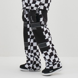 2021 (DIMITO X MILLET) DIMITO GTX BOX PANTS CHECKER BOARD BLACK