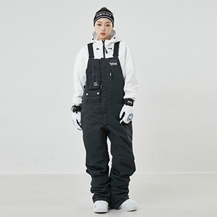 2021 YOBEAT MATI BIB PANTS BLACK
