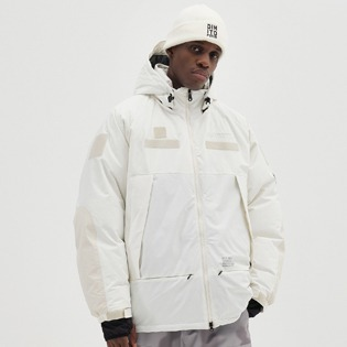 2021 (DIMITO X MILLET) DIMITO GTX MONSTER DOWN JACKET WHITE