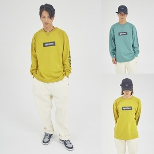 TYMAX BOX LOGO ZOOWOOK T  큐마일 박스로고 티셔츠