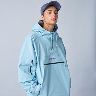 2021 HOLIDAY  RANGE 2L jacket - water blue