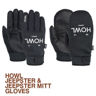 2021 HOWL SUPPLY JEEPSTER & JEEPSTER MITT GLOVE 하울 장갑 집스터 & 집스터 밋