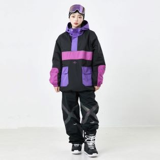 2021 비에스래빗 BSRABBIT RTRSIK ANORAK JACKET BLACK