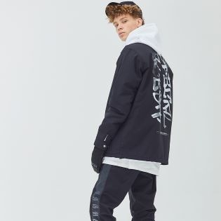 게스트하우스 Warm Coach Jacket - FACE BK