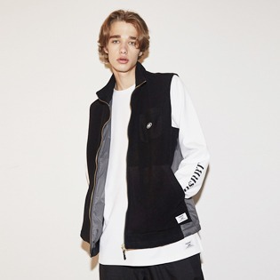 2021 BSRABBIT B714 FLEECE VEST BLACK