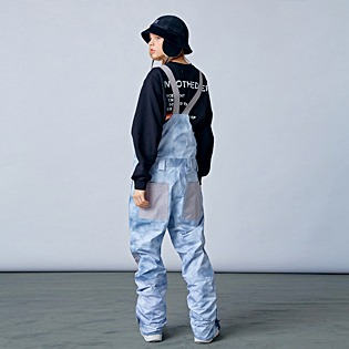 2021  HOLIDAY DIGGER 2L bib pants - cloud grey