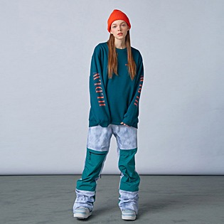 2021 HOLIDAY STORM 2L pants - cloud grey