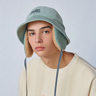 2021  HOLIDAY 3 UTIL bucket hat - greymint